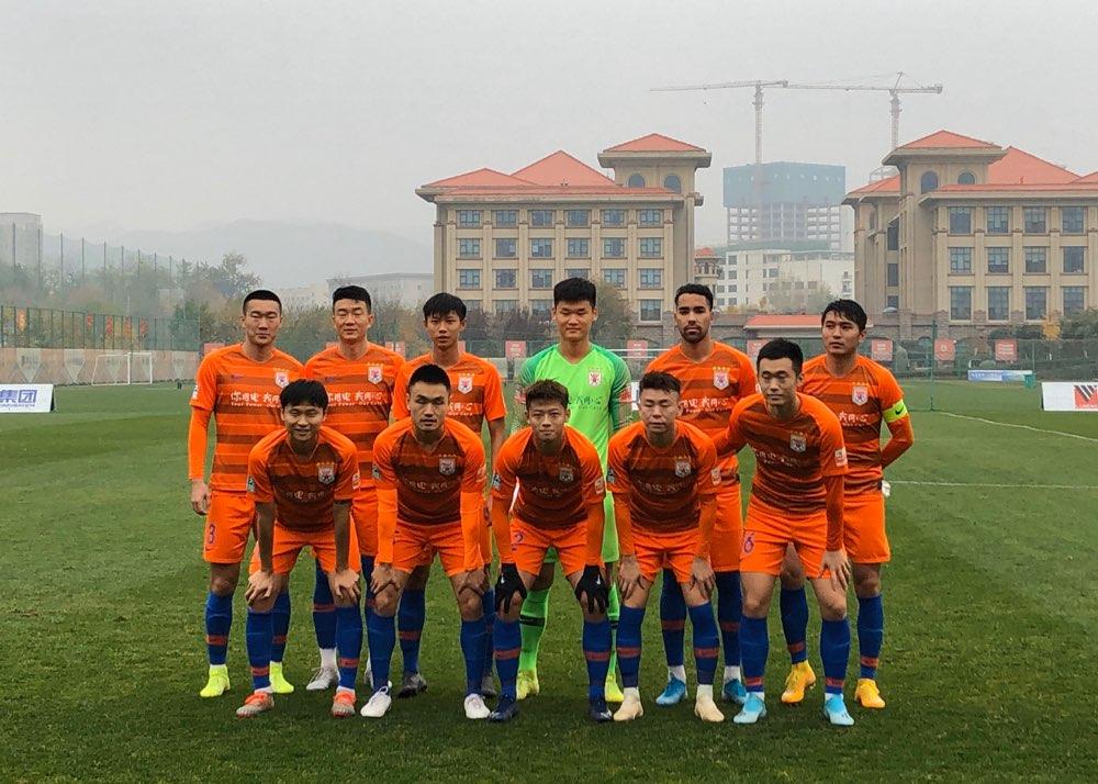 鲁能预备队7-1重庆 小将上演帽子戏法继续排名榜首