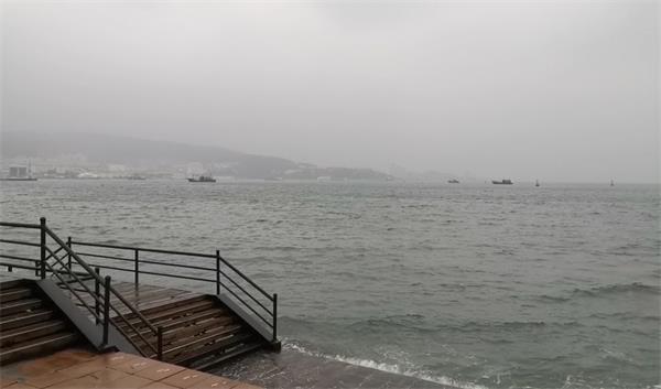 海丽气象吧丨24日威海气温骤降 刘公岛景区全天停航