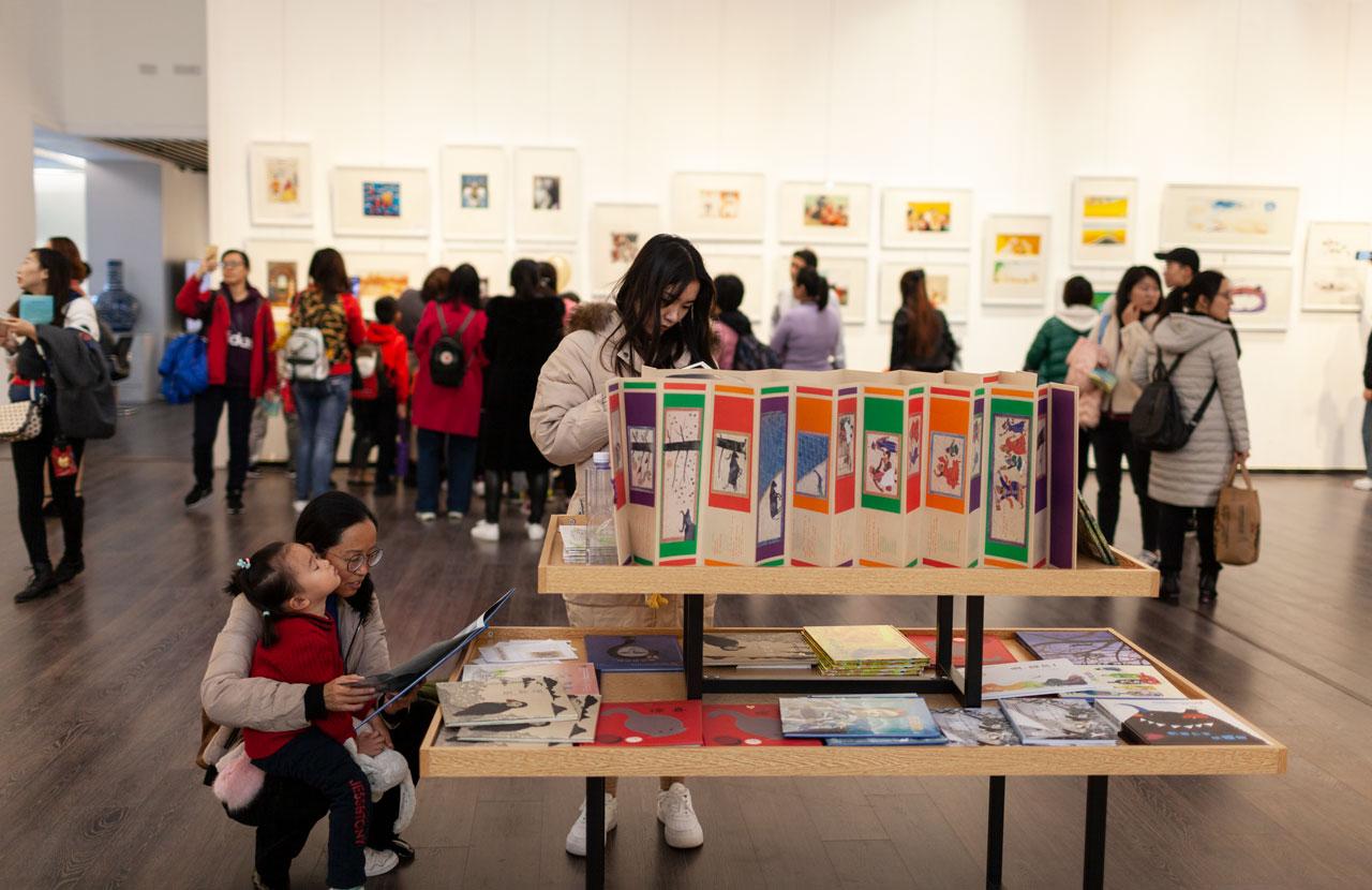 与市民面对面!布拉迪斯拉发国际插画双年展作品中国巡展插画家分享幕后