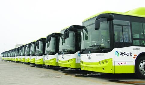 济宁城际公交B1线路东延 为鲁南高铁乘客提供换乘服务