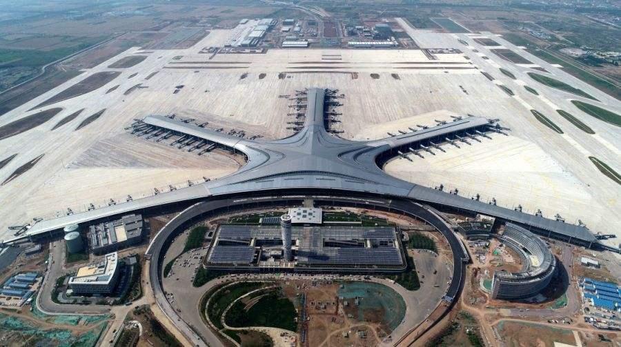 青岛新机场完成空管风廓线雷达安装