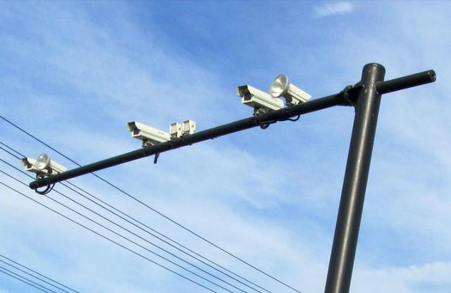 @邹城司机 12月1日起10处电子抓拍系统上线