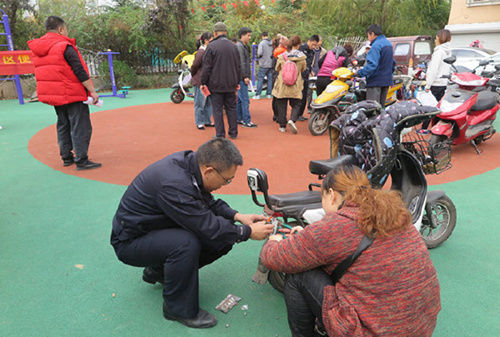 12月1日起,青岛市全面启动电动自行车集中登记挂牌工作