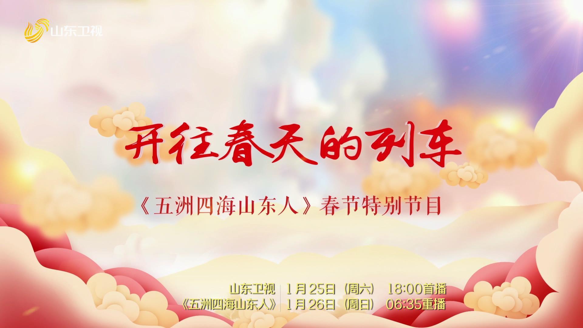 《五洲四海山东人》春节特别节目——开往春天的列车