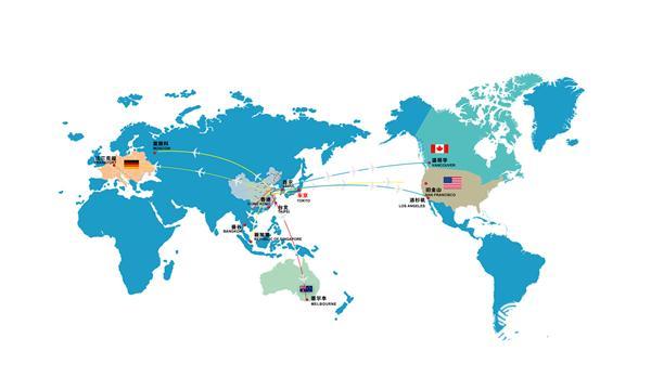 青岛机场即将开通至莫斯科,洛杉矶直航航线