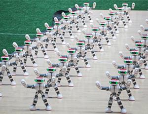 德州108个机器人舞出《霍元甲》,采访花絮曝光