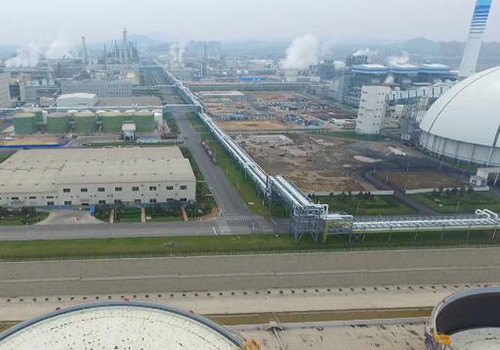 飞吧山东|航拍烟台港千万吨级原油储备基地