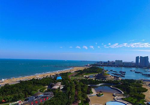 俯览日照新地标 国际帆赛基地堪称亚洲第一