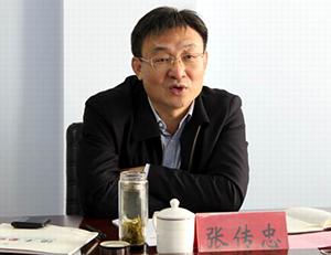 张传忠到陵城区调研并宣讲党的十九大精神