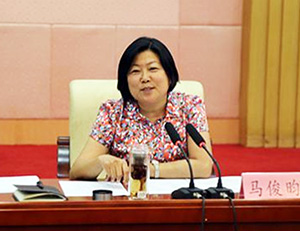 马俊昀到平原县宣讲党的十九大精神