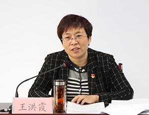 平原县委书记王洪霞到聚福社区宣讲党的十九大精神