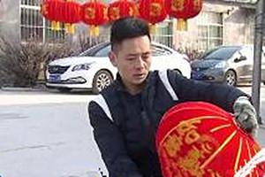 """新春走基层丨禹城青年陈坤的灯笼梦:让""""果林灯笼""""成为品牌"""