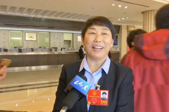刘文玲:乡村振兴战略的实施让农民很有信心
