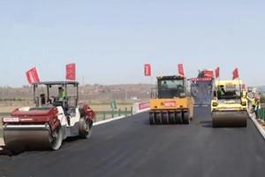 建设提速 龙青高速将提前两个月通车