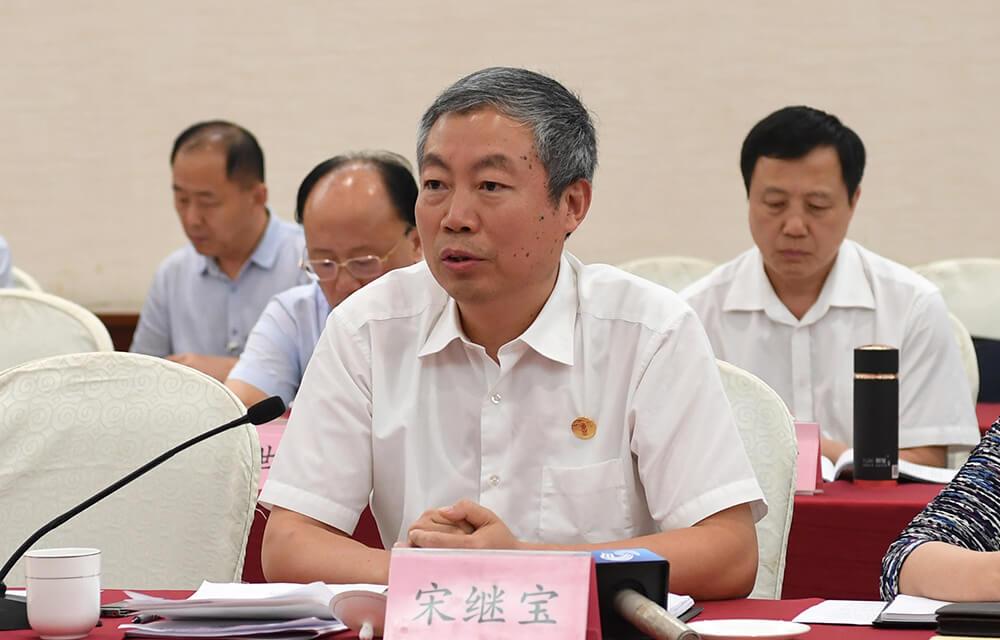 山东省海洋与渔业厅副厅长宋继宝:打好山东优势牌 大力发展海洋产业