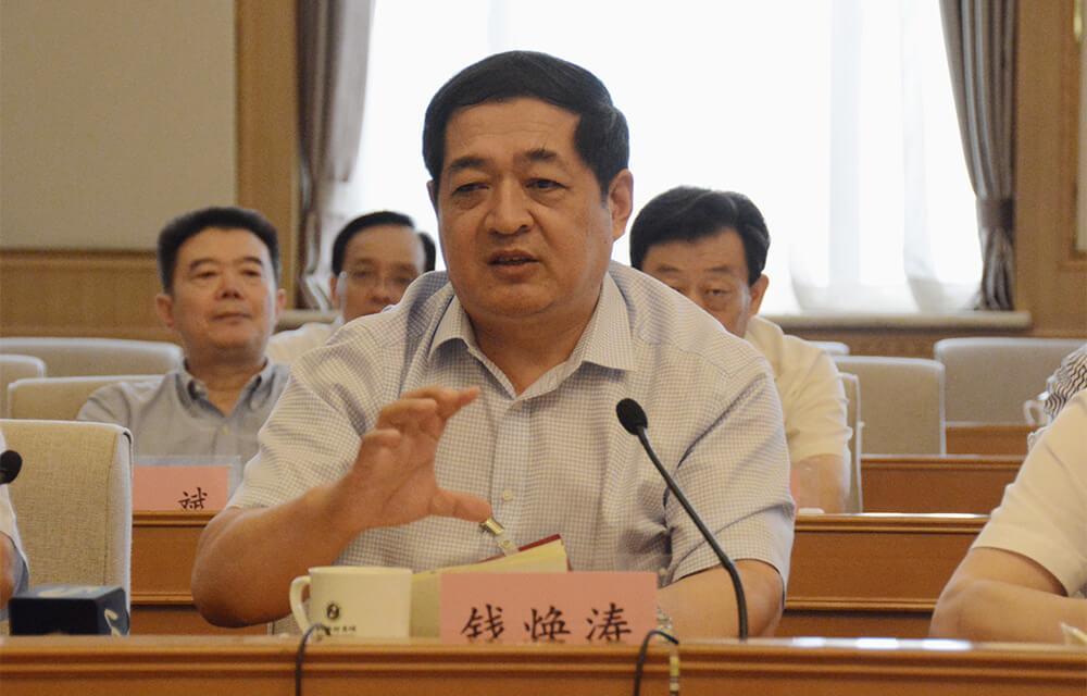"""山东省经信委主任钱焕涛:创建高铁、中欧班列等""""朋友圈"""""""