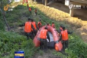 抗灾救灾在行动丨潍坊武警部队15名老兵主动请缨 完成退伍前最后一次任务