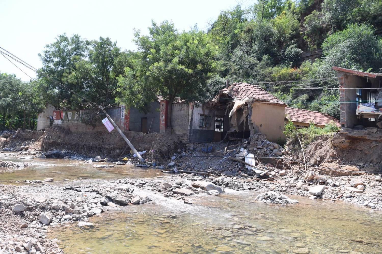 """""""温比亚""""致山东全省倒塌房屋14125间 直接经济损失221.97亿元"""