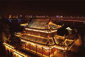 微视频丨灯光秀美景 璀璨迎国庆