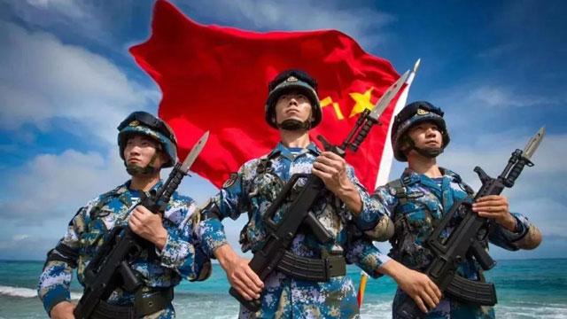 我一直守护在这里,为祖国和人民站岗!