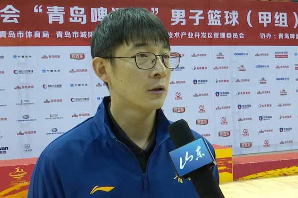 跃动齐鲁看省运·昔日山东队长挂帅青岛,感言此生不离开篮球