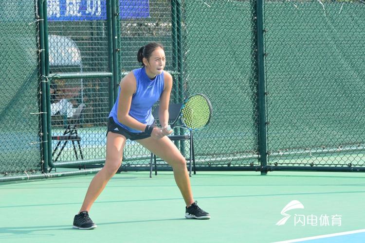 济南网球双子星双双晋级 女网小将表现抢眼