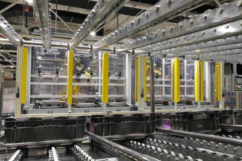 观摩会走进烟台通用CVT变速器项目 感受智能化示范工厂强劲动力