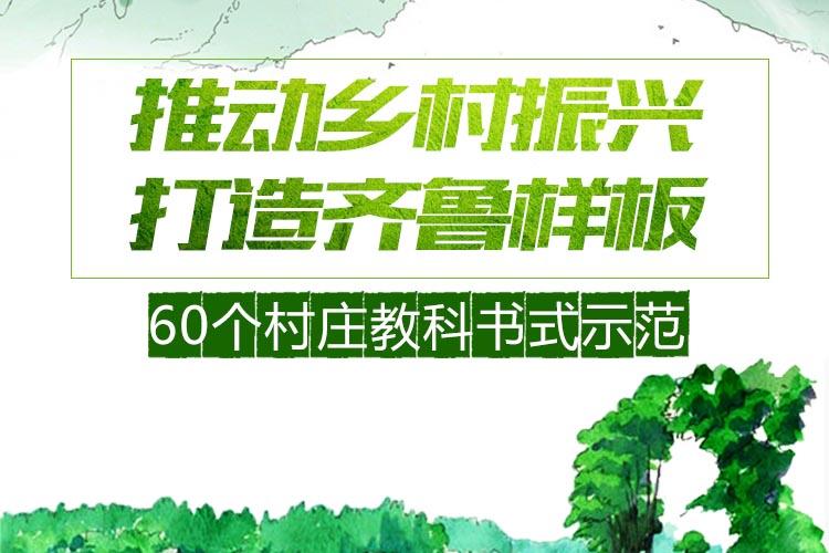 专题|山东如何推动乡村振兴?60个村庄教科书式示范