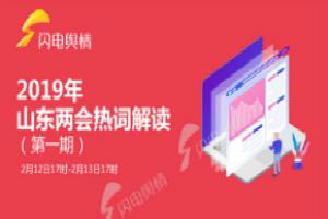2019山东两会热词解读榜第一期:政协开幕等受关注