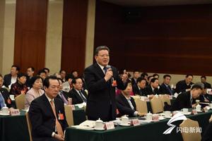 山东团开放日丨孟凡利:上合示范区是新机遇 建设已取得积极进展