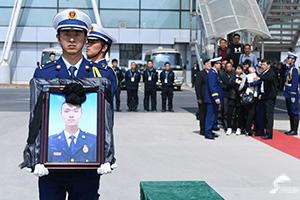 """英雄永在 浩气长存!山东籍救火烈士张成朋今日""""回家"""""""