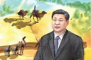 绘心绘语·一带一路丨中国方案的历史印记