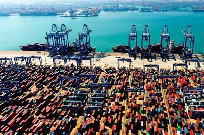 共和国发展成就巡礼•山东篇丨青岛港: 5G+码头 智慧港口新升级