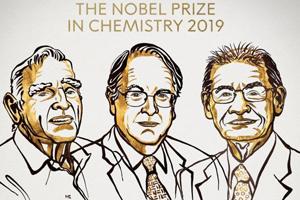 """2019诺贝尔化学奖揭晓!97岁""""锂电池之父""""等三位科学家获奖"""