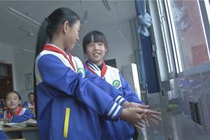 取暖用上新能源 滨州市滨城区滨北农村娃拥抱太阳温暖上学