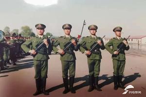 三军仪仗队战友追忆张勇:老班长是仪仗队的排头兵,500多次任务没有一次失败