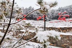 2020年初雪已到货,省气象台连续发布三个预警信号!雪天行车注意安全!