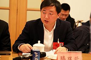 齐河县长滕双兴:深化与日韩经贸交流 强化精密制造等领域合作