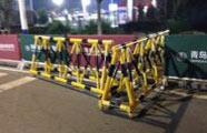 淄博消防倡导封路隔离使用可移动路障