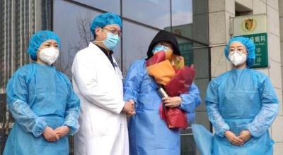 青岛首例新型冠状病毒感染的肺炎确诊患者治愈出院