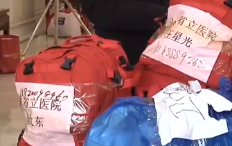 央视报道:山东第二批医疗队抵达武汉
