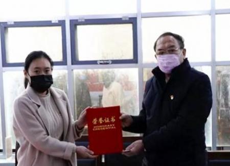 泰安71岁老党员为疫情防控捐款10万元