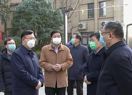 市委副书记、市长张涛到高新区暗访督导疫情防控工作