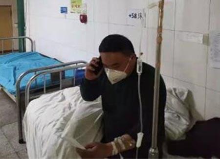 新泰市小协镇横山村李猛:带病坚守一线 千元捐助为民