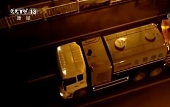 央视《朝闻天下》:山东泰安从2月5日开始对重点场所进行立体式消毒