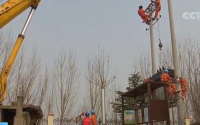 央视《新闻直播间》:山东胶州高效完成市隔离医院电力线路改造工作