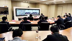 杨洪涛专题调度疫情防控形势下重点工作推进情况