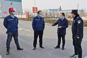 """潍坊昌邑实行""""一企业一小组""""包靠制度 防疫生产两手抓"""