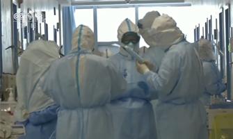 央视《新闻联播》:探访同济医院光谷院区山东医疗队