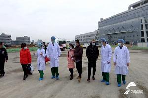 闪电直击丨帮我们解围的是山东医疗队!黄冈大别山区域医疗中心9名患者出院